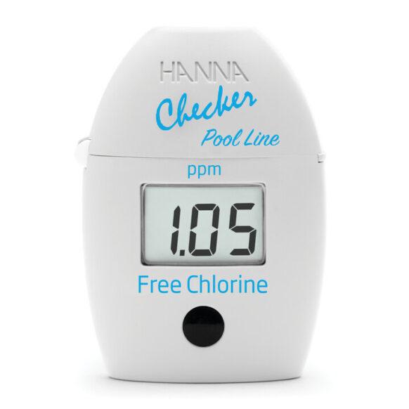 Checker photomètre pour chlore libre LR HI7014
