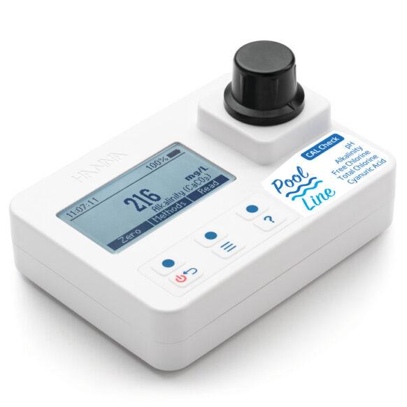 Photomètre pour alcalinité, acide cyanurique, chlore et pH HI971044