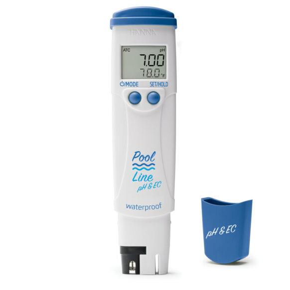 Testeur pH, EC, SDT et température HI981304